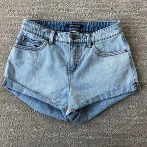 Billabong jean shorts